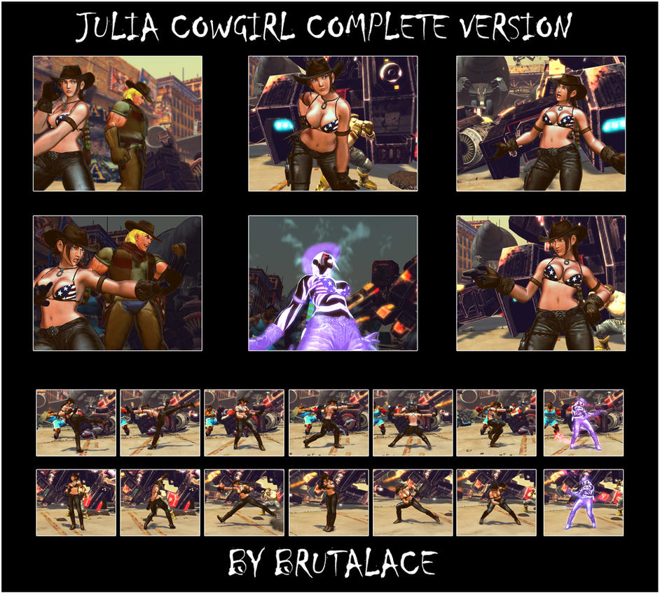 Julia Cowgirl Complete Version by BrutalAce