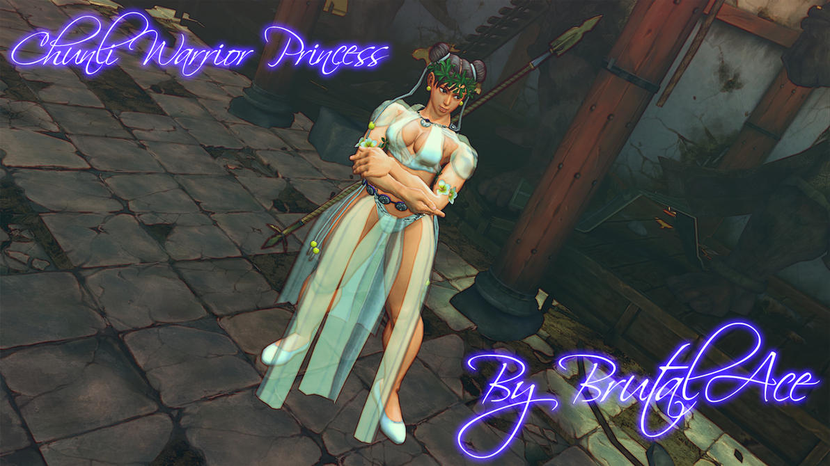 Chunli Warrior Princess By BrutalAce by BrutalAce