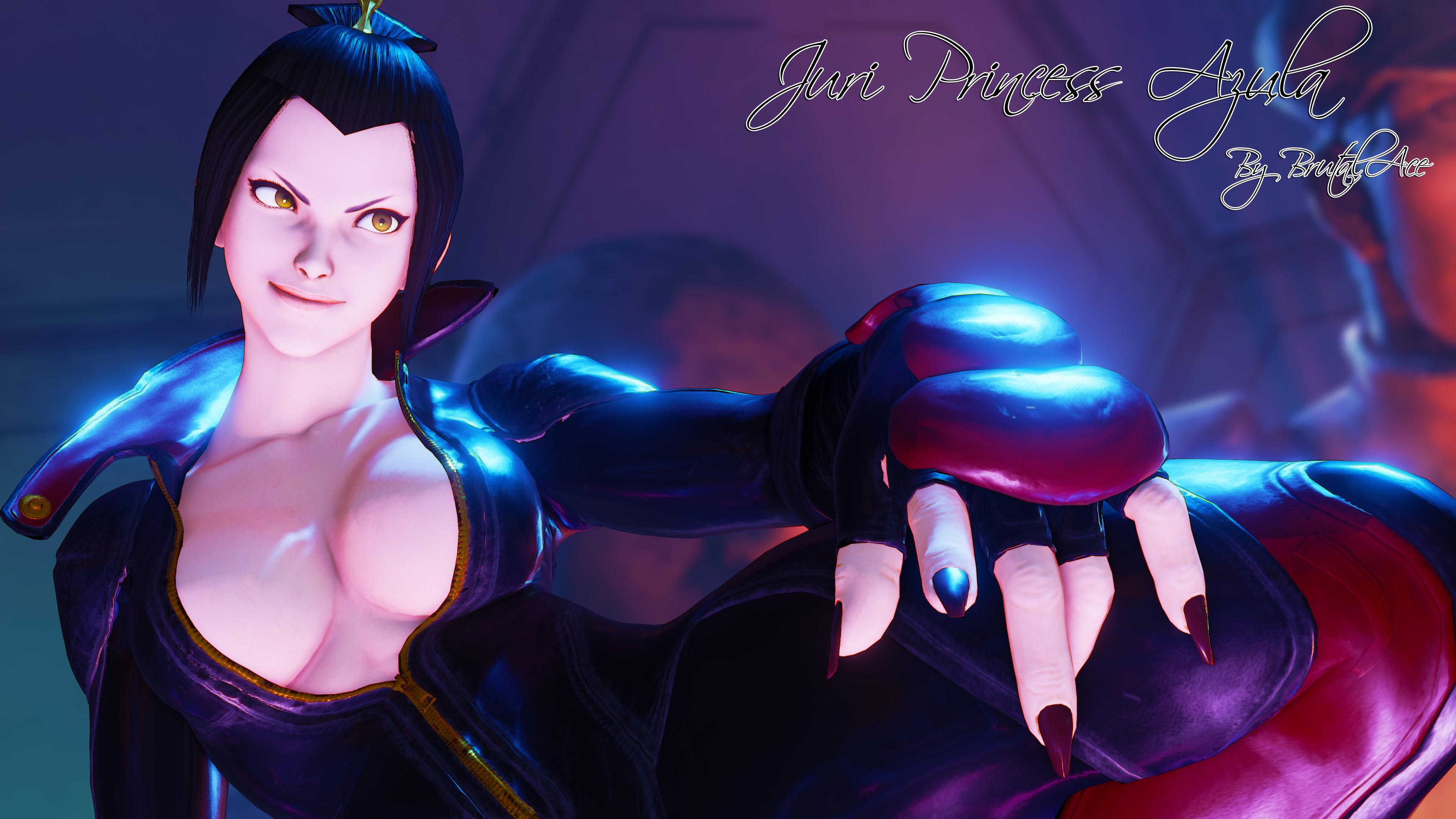 Juri Princess Azula By BrutalAce
