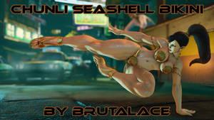 Chunli Seashell Bikini