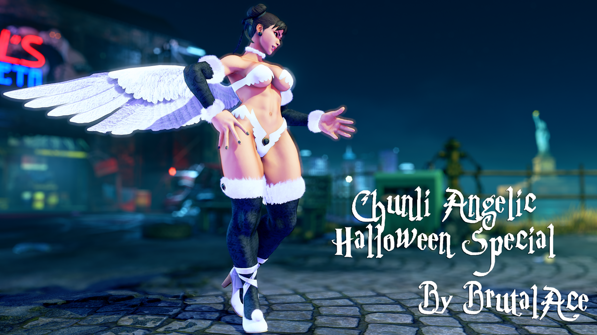 Chunli Angelic (Halloween Special) by BrutalAce