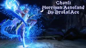 Chunli Morrigan Aensland by BrutalAce