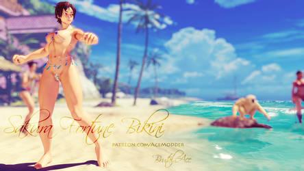 Sakura Fortune Bikini by BrutalAce
