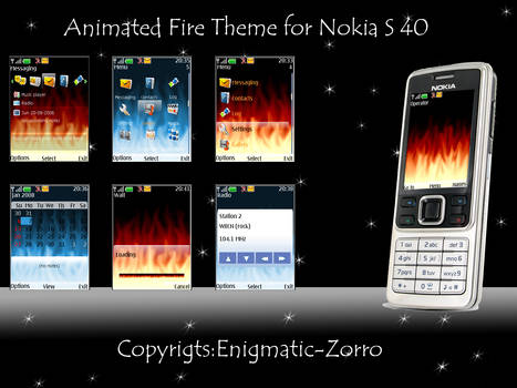 Animated Fire for Nokia S40