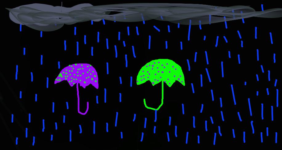 umbrellas by Mikrox