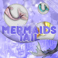 Photopack Mermaids Tail // Mis Pedidos Photoshop by MisPedidosPhotoshop