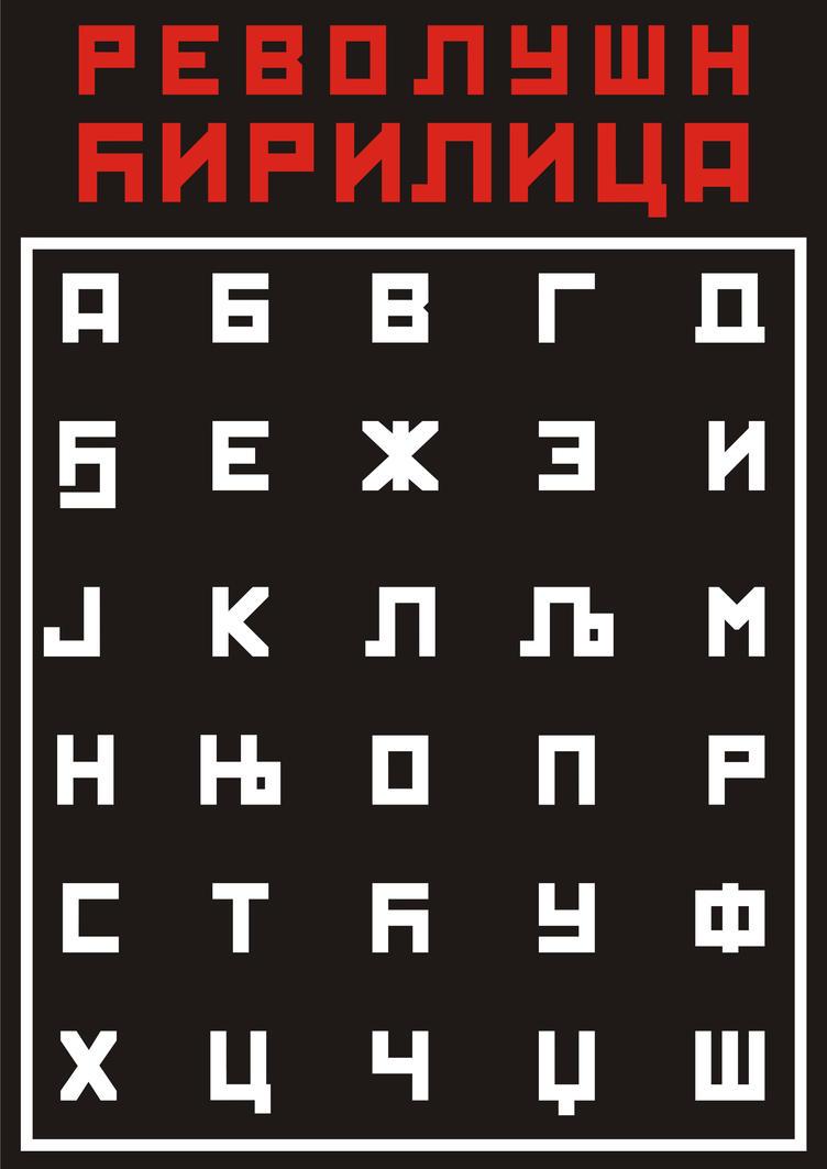 Revolution Cir font by Bokula