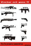 Gun vector set 1
