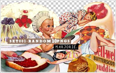 SET001- RANDOM 10PNGS by majoriex