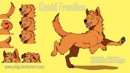 Freeline Canid by Sidgi