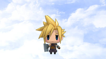 World of Final Fantasy~Cloud