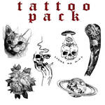Tattoo pack by SadnessEdits #2 (Donatien)