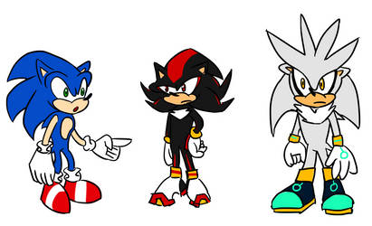 Drawing Sonic Characters From Memory by penguin04