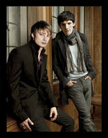 Merlin and Arthur by Phabayane