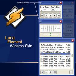 Luna Element Winamp Skin **WIP
