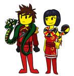 Nya and Kai