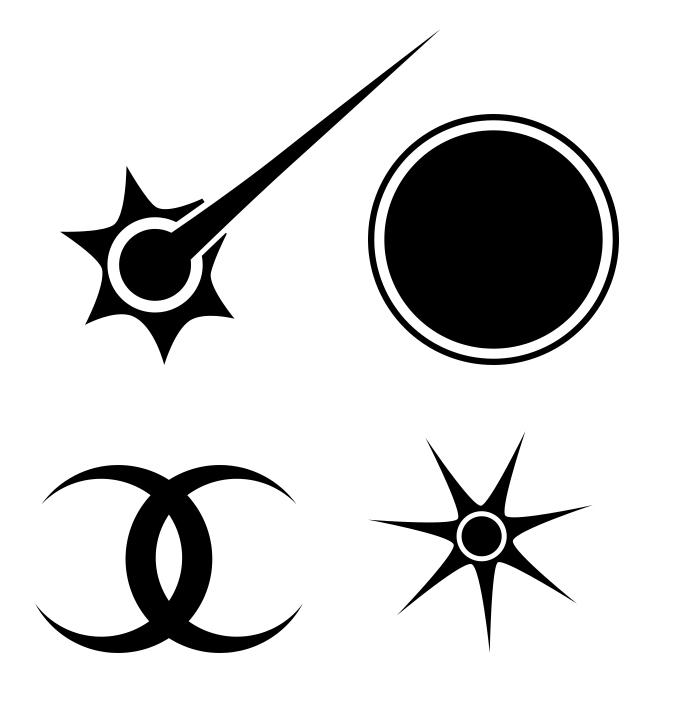Broken Crown Symbols Of The Gods By Poisonmilow On Deviantart