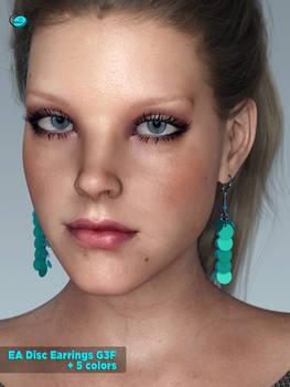 EA Disc Earrings for Genesis 3 Female(s)