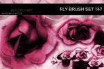 butterfly-stock_brush set 147