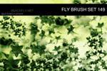 butterfly-stock_brush set 149