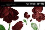 butterfly-stock_brush set 152