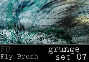 Fly Brush- Grunge set 7 by butterfly-stock