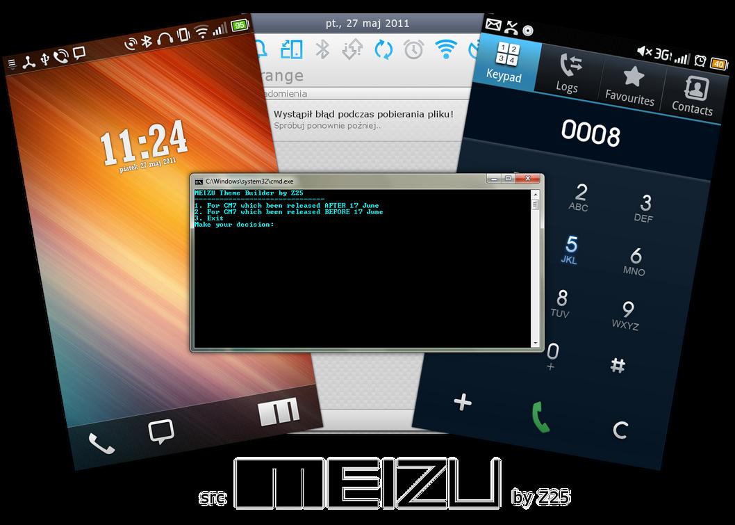 MEIZU v8.0 SRC by ZduneX25