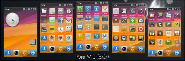 Pure MIUI for QQLauncher