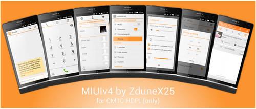 MIUIv4 for CM10
