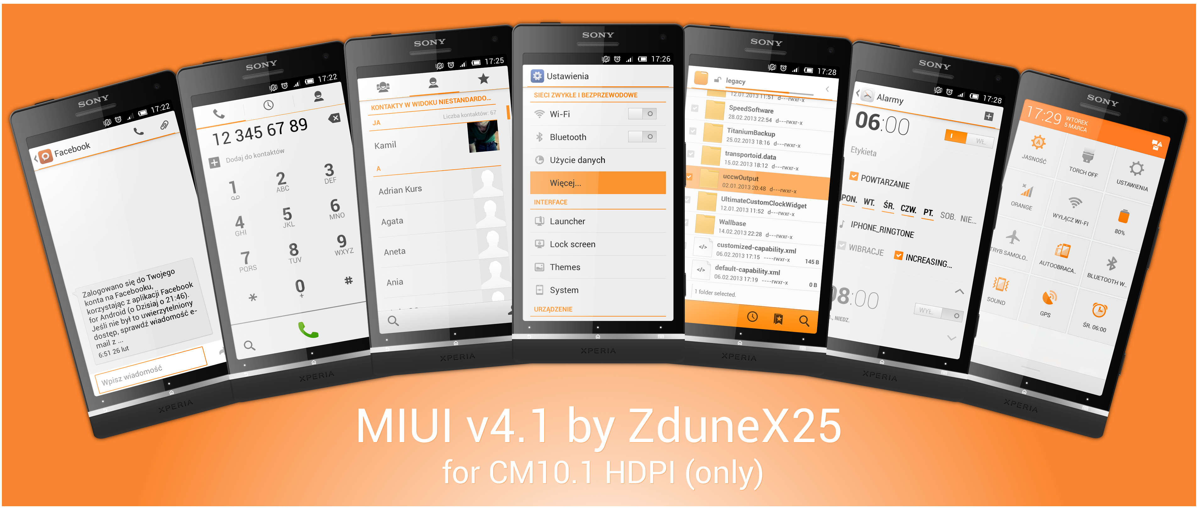 MIUIv4.1 CM10.1 HDPI by ZduneX25 by ZduneX25