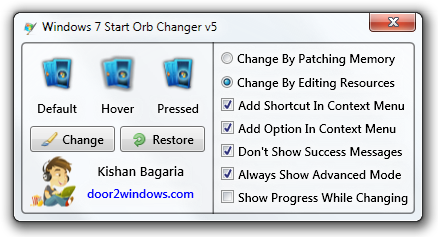 Windows 7 Start Orb Changer by Kishan-Bagaria on DeviantArt
