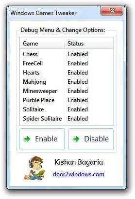 Windows Games Tweaker by Kishan-Bagaria