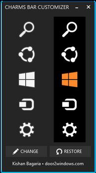 Windows 8.1 Charms Bar Customizer