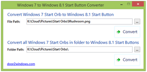Windows 7 To Windows 8.1 Start Button Converter