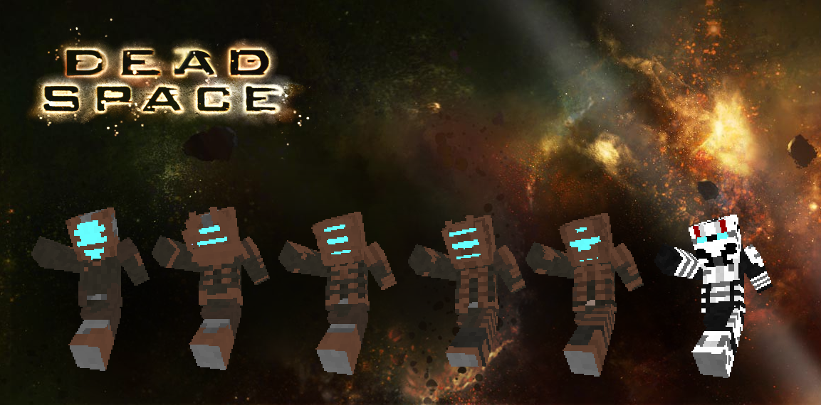 Dead Space Minecraft Skins by BurntBiscuits