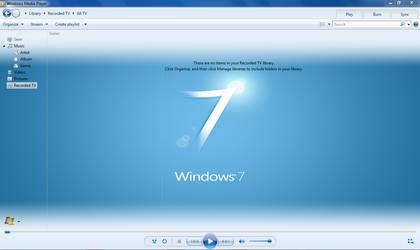 WMP12 - BLUE Theme X64 ONLY.