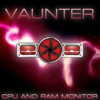 Vaunter!The Animated Cpu,Ram Monitor! by AzizStark