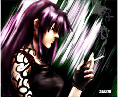 Revy - Black Lagoon by DecaySlacker
