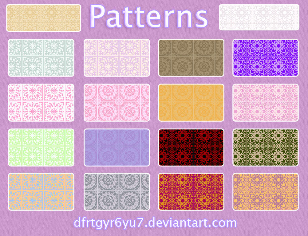 Patterns-20 by dfrtgyr6yu7