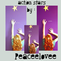 action star yellow by peaceelovee