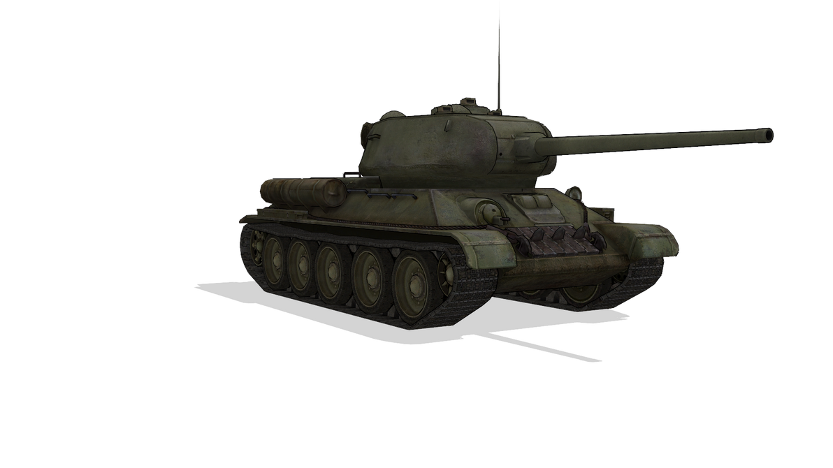 MMD T-34-85 download by RaiR-211 on DeviantArt