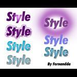 Styles Photoshop 01 by fernandda