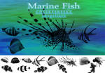 Marine Fish Brush Set