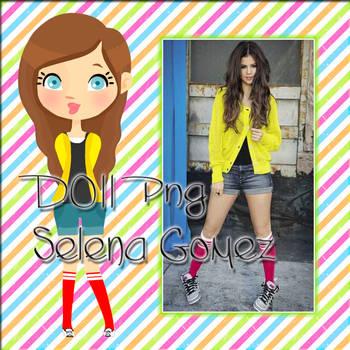 Doll Selena Gomez by KatiiZ