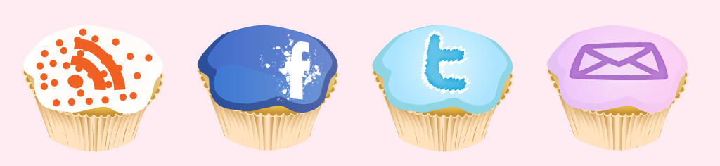 Cupcake Icons by Jolinnar
