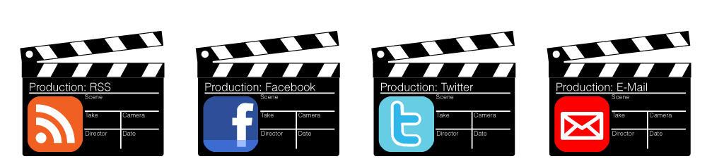 Movie Clapper Icons by Jolinnar