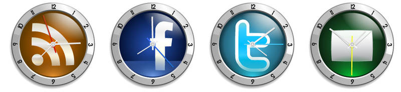 Clock Face Icons