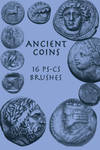 ancient coins - 16 cs brushes