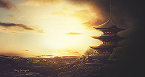 Temple tutorial psd by MaryCapogna