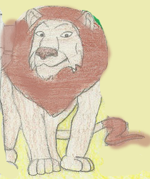 Cowardly Lion by Shellquake